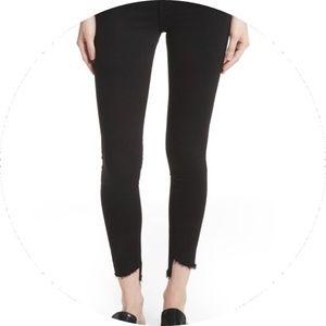 FRAME Le High Skinny Step Hem Jeans